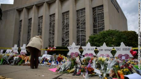 Eleven people were killed in a 2018 mass shooting at the Tree of Life Congregation in Pittsburgh.