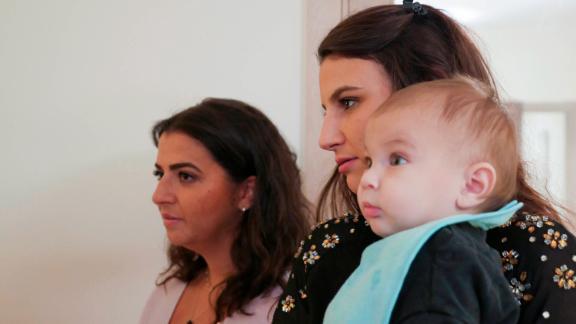 Myriam's family gather for Shabbat dinner in a Paris suburb.