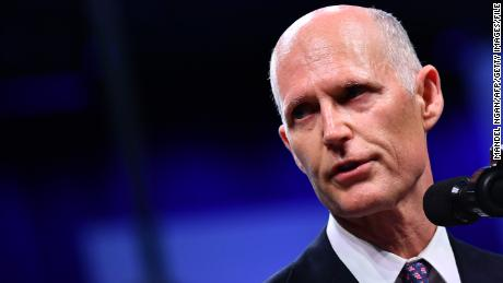 Florida Sen. Rick Scott: 'Get off the beach'