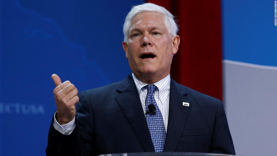 Former Texas Rep. Pete Sessions was pushed by Giuliani associates to back effort to eject Ukraine ambassador