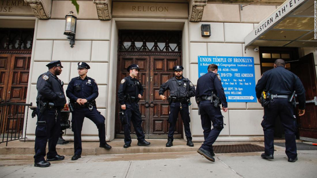 Brooklyn man faces 4 hate crime charges after synagogue is defaced with anti-Semitic messages, fires set