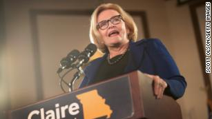 McCaskill warns Dems about 'cheap' rhetoric; says GOP senators privately believe Trump is 'nuts'