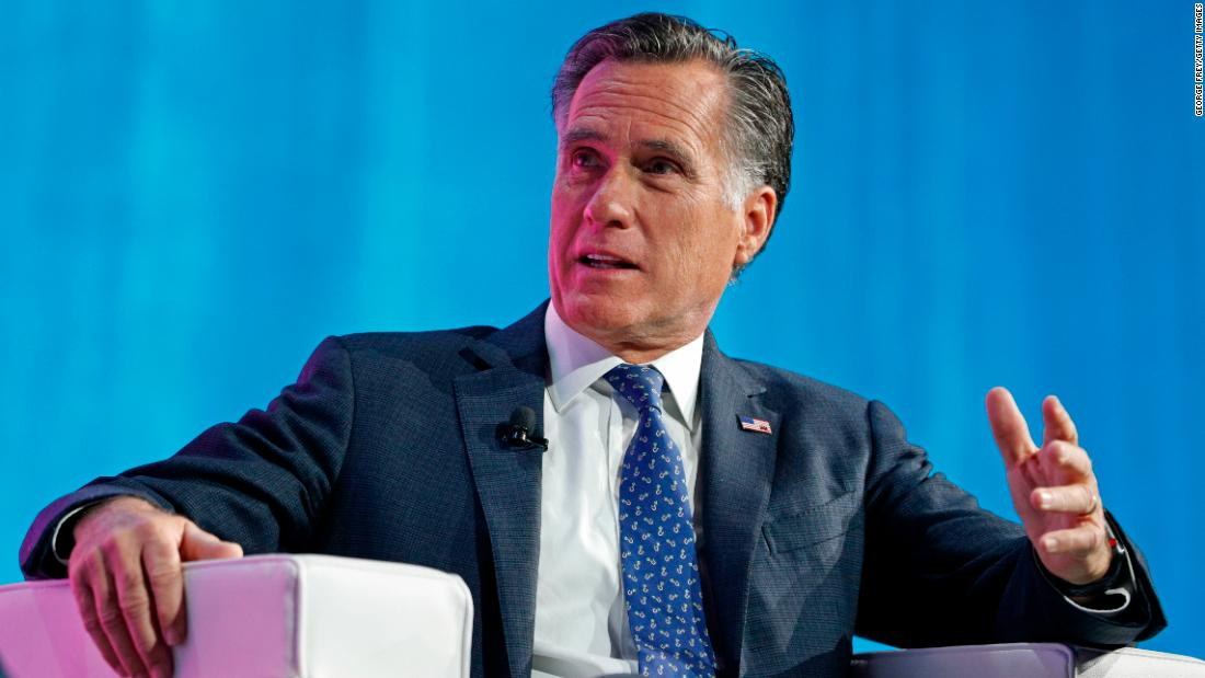 Romney on Mueller report: I am 'sickened' by 'dishonesty and misdirection' of President Trump