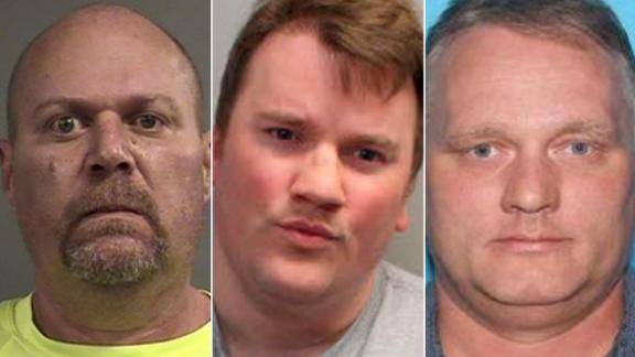 From left, the men accused of the Kroger shooting, Gregory A. Bush; the Tallahassee yoga shooting, Scott Paul Beierle; and the Pittsburgh synagogue shooting, Robert Bowers.
