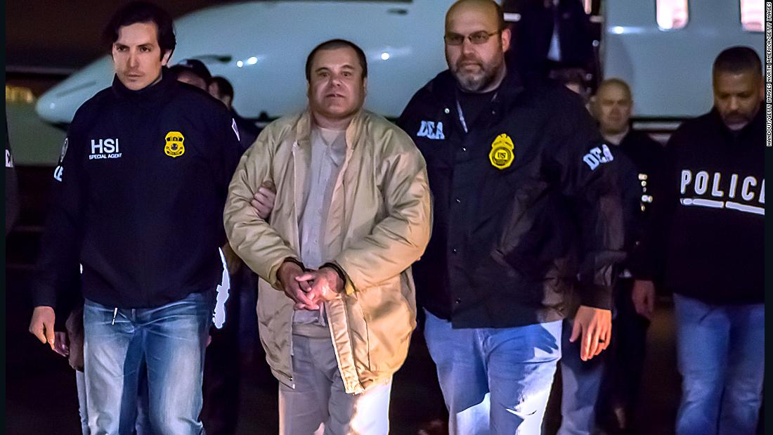 Traffickers at the El Chapo trial say drugs aren't smuggled through open parts of the border - CNN