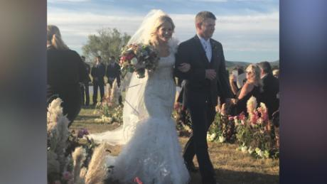 Newlyweds In Crash Hours After Wedding