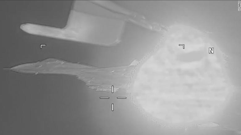 Watch a Russian fighter jet intercept a US aircraft