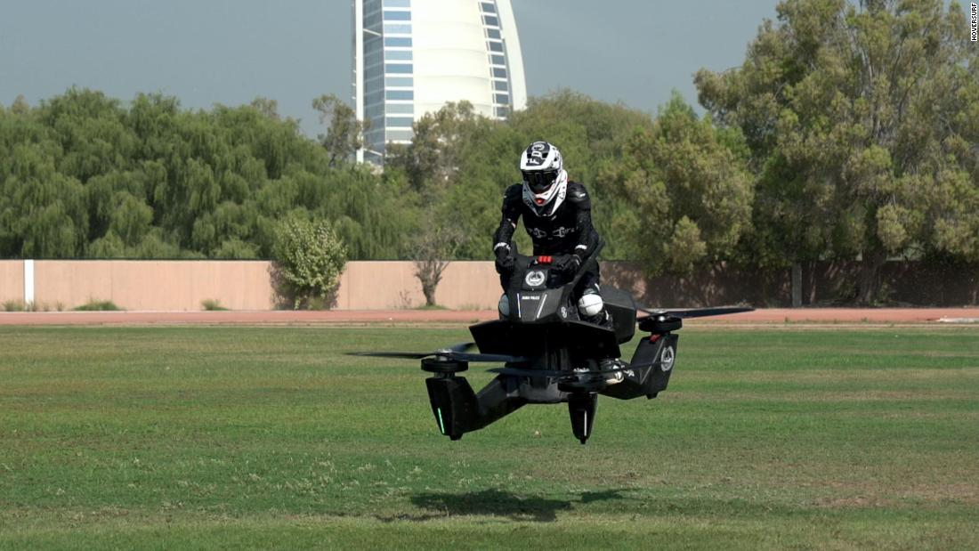 General Director of Dubai Police's artificial intelligence department Brigadier Khalid Nasser Alrazooqi says he sees the electronic vertical landing and take off vehicle (eVTOL) as a potential first-responder unit.
