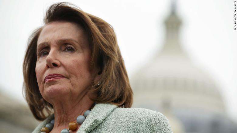 Pelosi starts bid for speakership with kind words from Trump