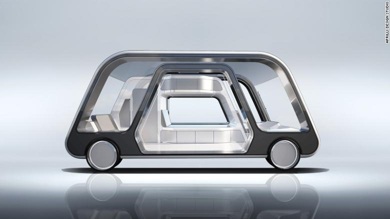This self-driving hotel room could revolutionize travel