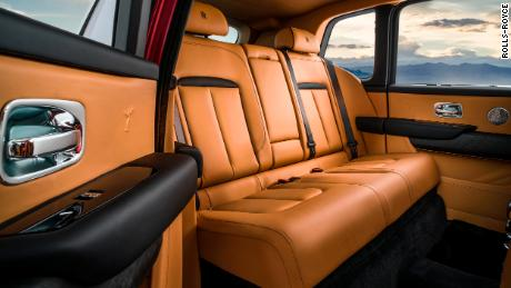 "Like all Rolls-Royce vehicles, the Cullinan has ""coach doors"" that open rearward for backseat passengers."