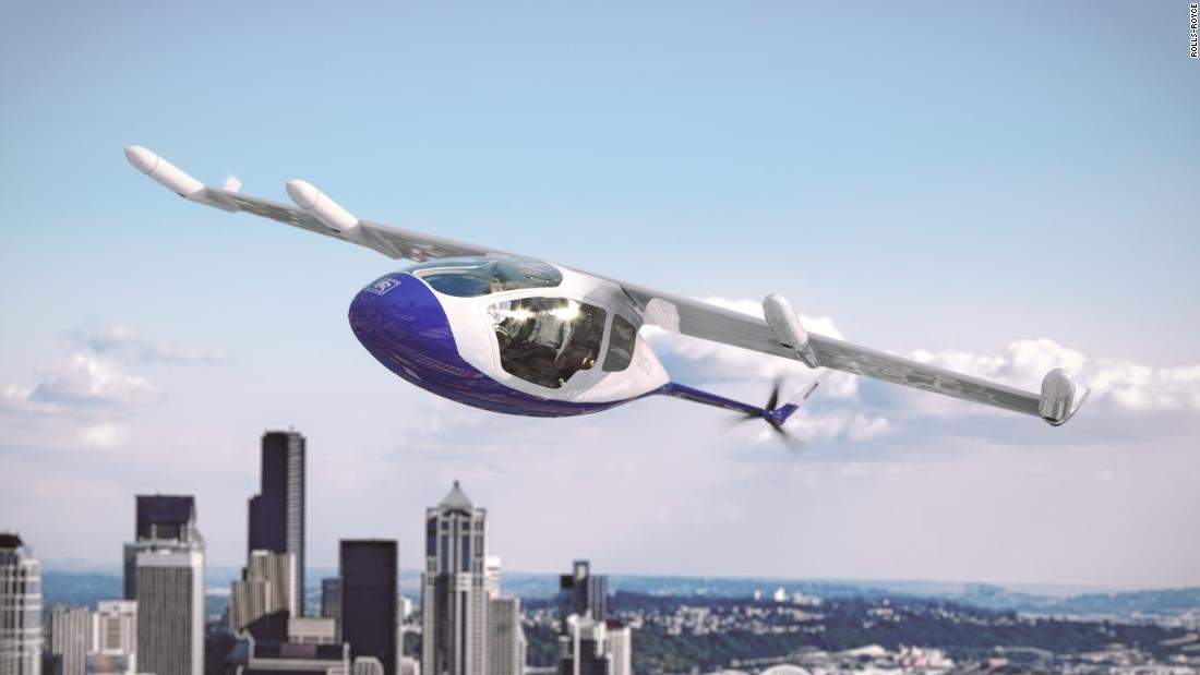 "UK aerospace company Rolls-Royce unveiled its <a href=""https://money.cnn.com/2018/07/16/technology/rolls-royce-flying-taxi/index.html"">eVTOL concept</a> this summer, featuring a tilt wing and six propellers, including four that would fold into the wings at cruising altitude. Rolls-Royce hopes it will be available in the early 2020s."
