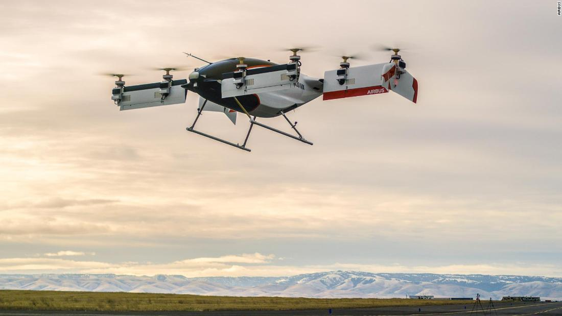 On January 31, 2018 Vahana, an eVTOL aircraft by Airbus branch A3, completed its first test flight in Oregon. The aircraft is self-piloted and went from concept sketch to full-scale build in less than two years.