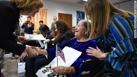 106-year-old woman becomes US citizen on Election Day - CNN