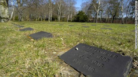World War I graves at Columbiadamm Cemetery, Berlin