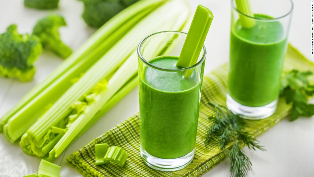 Celery juice: Are the health benefits real? - CNN