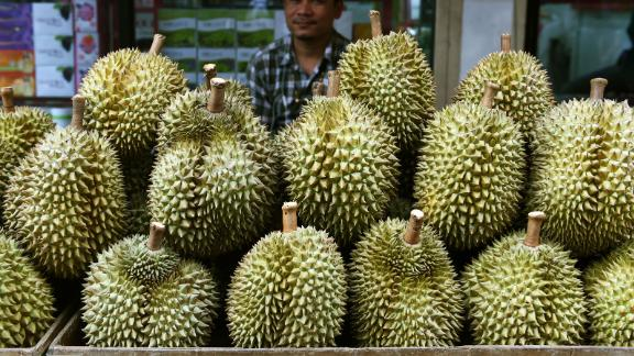 Durian is popular in Southeast Asia, but its smell also puts a lot of people off.