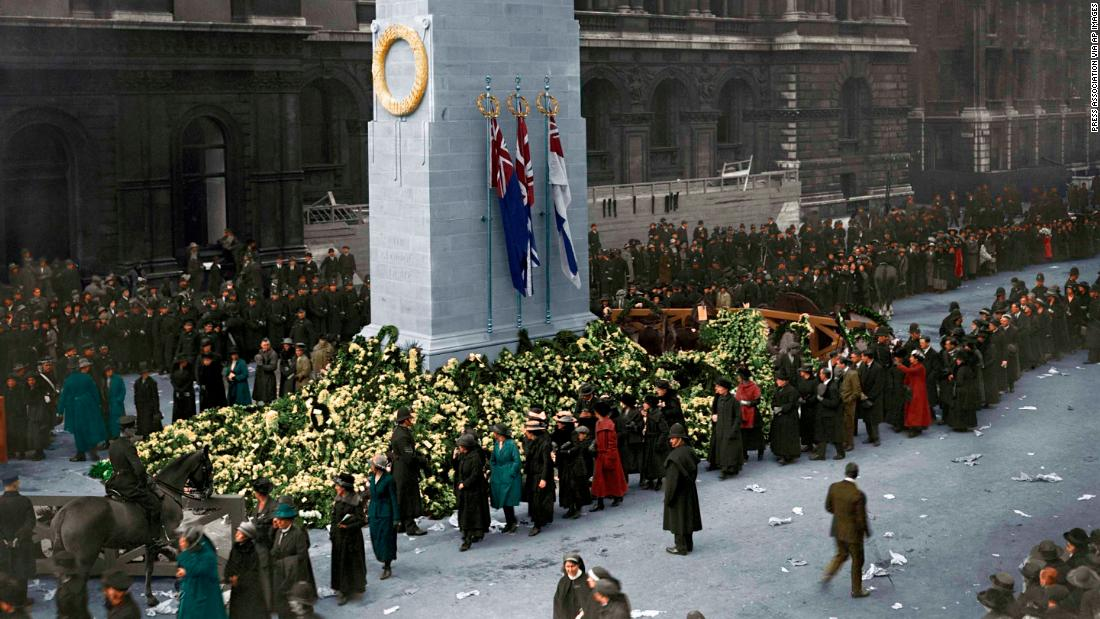 WW1 photos in color mark 100 years since conflict ended - CNN Style