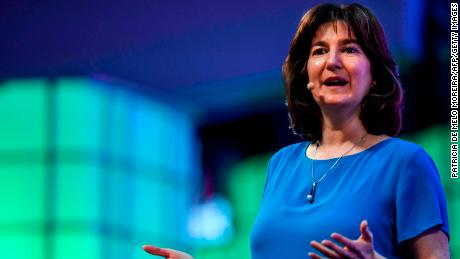 Google's vice president for product management Tamar Yehoshua speaks at the Web Summit.