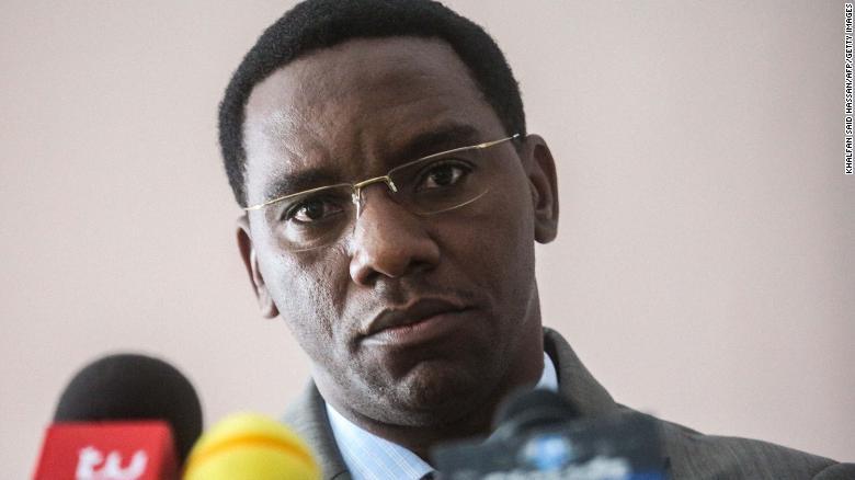 The regional governor of Tanzania's largest city, Dar es Salaam, Paul Makonda.