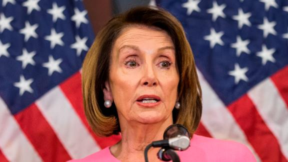 House Minority Leader Nancy Pelosi (D-CA) holds a news conference following the 2018 midterm elections at the Capitol Building on November 7, 2018 in Washington, DC. Republicans kept the Senate majority but lost control of the House to the Democrats.