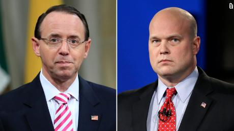 Maryland to argue Rosenstein, not Whitaker, should be acting attorney general