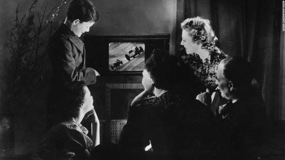 Britons are still watching black-and-white TV