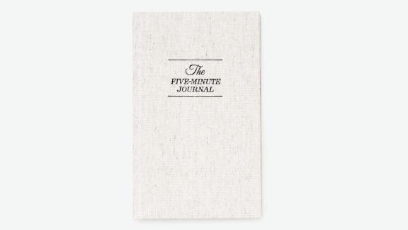 The Five Minute Journal ($24.95; urbanoutfitters.com)