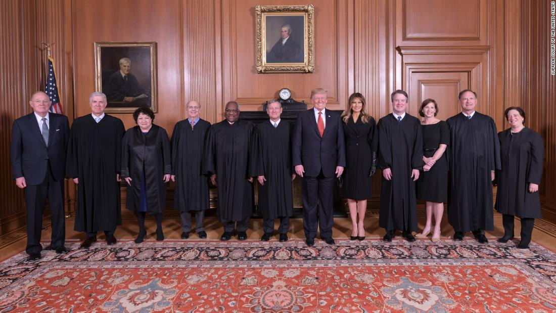 A four-year timeline of Trump and SCOTUS