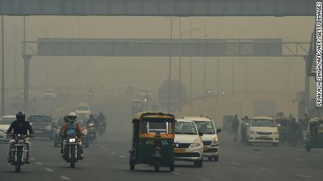 Delhi suffocated the day after Diwali