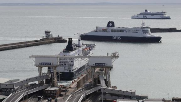 Two minutes of checks in Dover could cause a substantial backlog of lorries at the port.