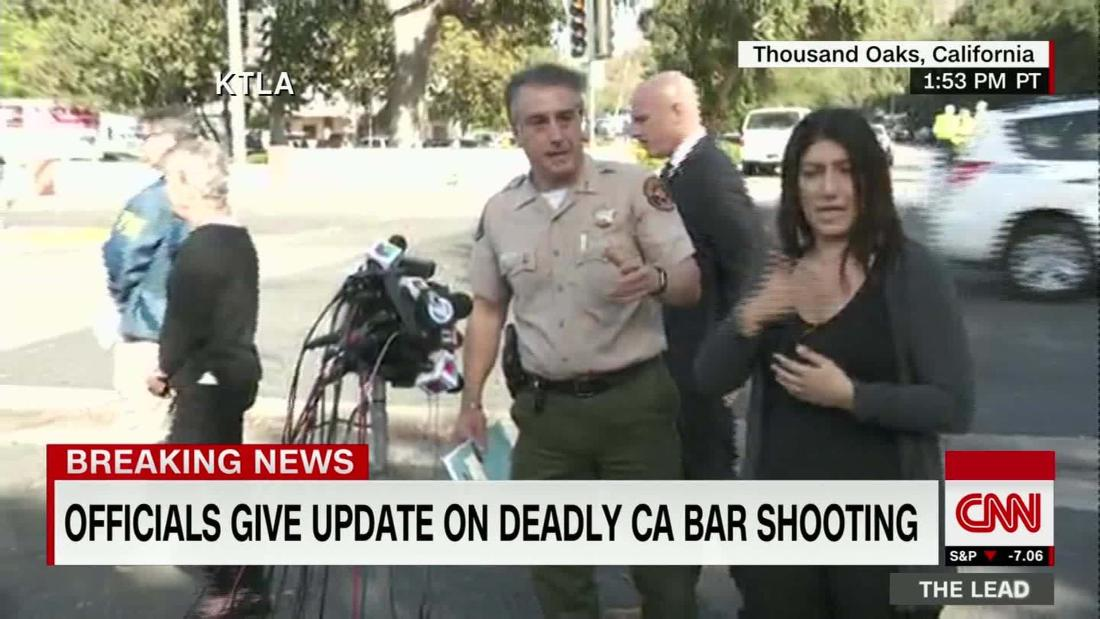 Sheriff answers questions after deadly bar shooting
