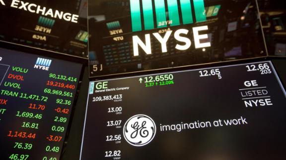 GE shares initially rallied after Larry Culp was named the new CEO but they have since resumed their long slump.
