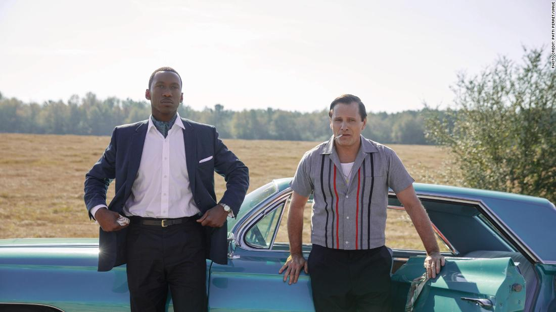 'Green Book' cruises on star power of Mortensen, Ali