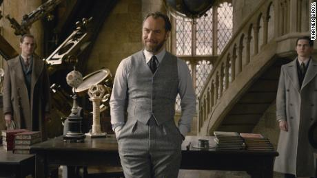 Jude Law in 'Fantastic Beasts: The Crimes of Grindelwald'