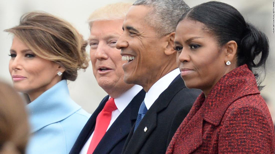 Michelle Obama explains this look on her face at Trump's inauguration