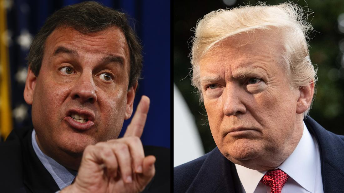 Christie: Trump has 'found himself saddled with riffraff'