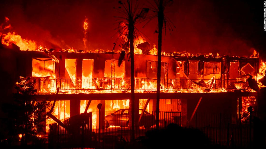 camp fire grew so fast it burned the equivalent of a football field