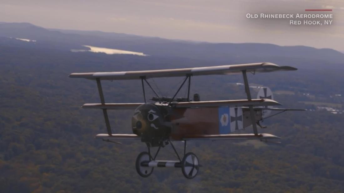 Watch World War I planes fly 100 years later