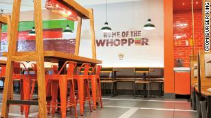 Burger King trolls McDonald's with 1 cent burger promotion - CNN