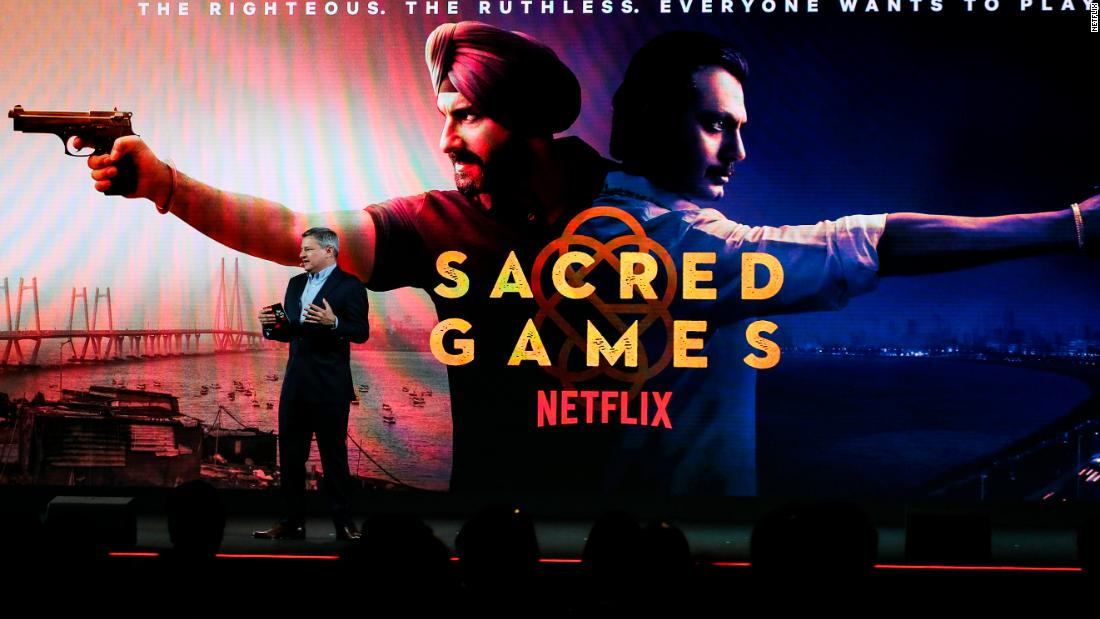 Netflix leans on India for its latest Asia push