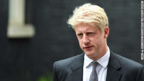 Jo Johnson is pictured leaving 10 Downing Street in September.