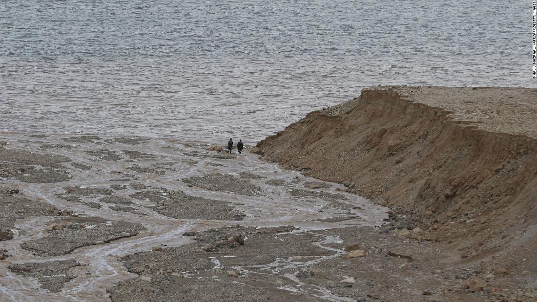 Flash floods in Jordan kill at least 13
