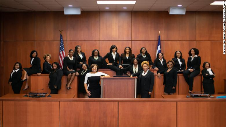 One Texas county just swore in 17 black female judges - CNN d9c14bb1c