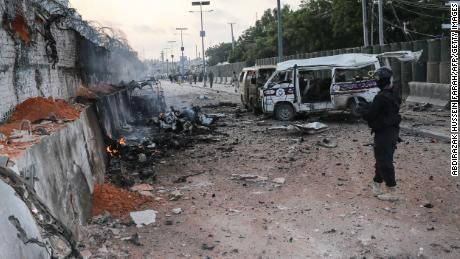 Death toll in Mogadishu car bombing rises to 52