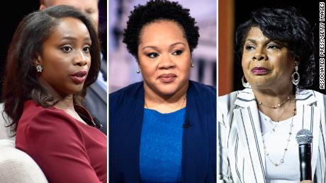CNN Abby Phillip, PBS Yamiche Alcindor, CNN April Ryan SPLIT
