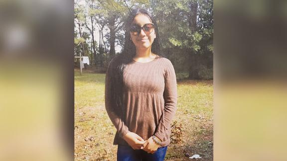 The body of Hania Aguilar, 13, was found last week.