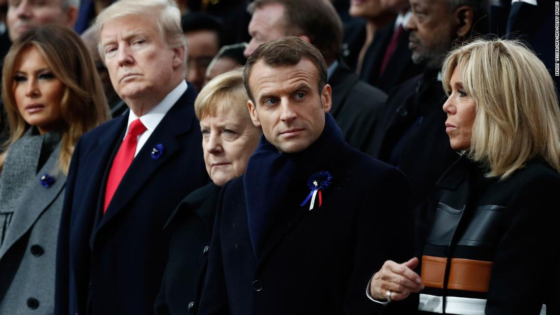 France accuses Trump of lacking 'common decency' for tweets on anniversary of Paris attacks