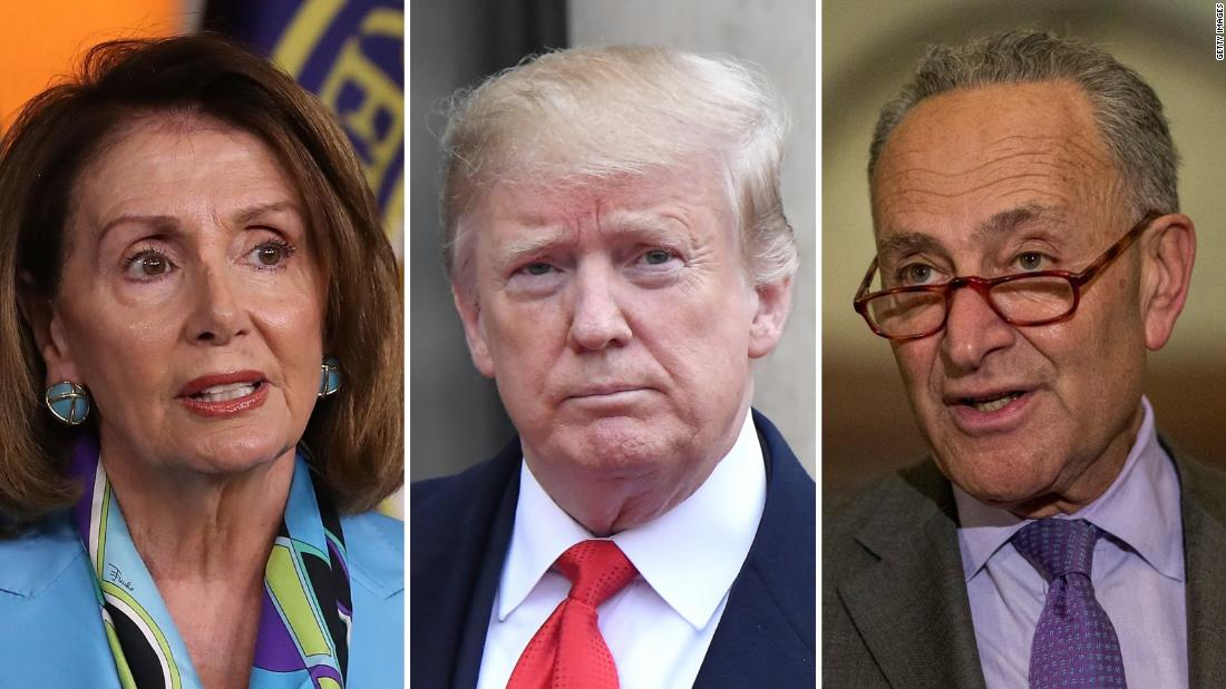 Angry Trump slams Democrats' investigations after cutting infrastructure meeting short
