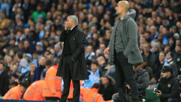 One of the criticisms that Mourinho has faced during his Old Trafford tenure is the style of football his team has played. While Pep Guardiola